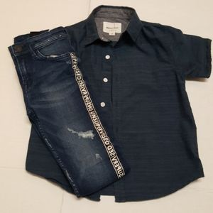 Other - 2pc Boy's Shirt and Pants Set